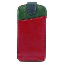 Multicolour Leather Glasses / Spectacle Case by Golunski Standard Size 887 M1