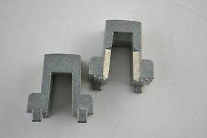 HO Scale Train Engine Weight Metal A Shaped Frame Heavy 1.5 Ounces Each Gray