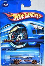HOT WHEELS 2005 SALEEN S7 #178 JINNCO BLUE W+
