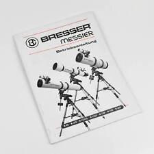 Bresser Messier Betriebsanleitung Manual R-90 R-102 R-127S/L R152S N-130 N-150