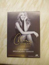 Celine Dion  A5 concert poster