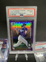 Corey Seager 🧨💰 RC Pros 🌈 Purple SP Refractor /250 Rookie PSA. 🔥💎 Rare