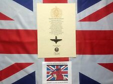 Parachute Regiment Cap Badge Oath Of Allegiance And Sovereign's Shilling