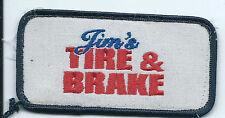 Jims Tire & Auto McAllistor OK Employee patch 2 X 3-7/8           #17