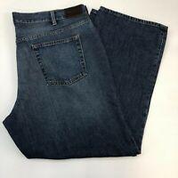 Sonoma Denim Jeans Mens 40X30 Blue Straight Leg Classic Fit Medium Wash Zip Fly