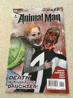 Animal Man  5  NM  9.4  High Grade   New 52   2011 Series