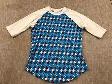 girls LULAROE size 6 SLOAN shirt 4th of JULY bomb pops boys unisex 3/4 sleeve
