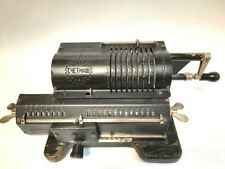 Vintage USSR  Arithmometer Mechanical Calculator Felix M. Adding Machine Soviet