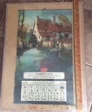 Rare Complete International Harvester McCormick-Deering 1938 Calendar, Stunning