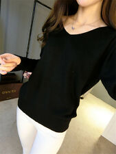 Fashion Women Pullovers Cashmere Sweater V-neck Loose Knitted Sweaters S-XXXXL