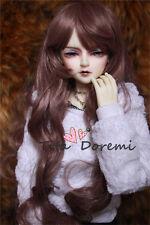1 3 8-9 Bjd parrucca Dal Pullip Blythe SD LUTS DZ DOD Dollfie Doll Purple Hair