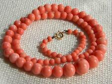 Coral Necklace Art Deco Costume Jewellery