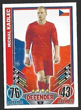#11 TOPPS - MATCH ATTAX CARD GAME  - ENGLAND 2012  MICHAL KADLEC  CZECH REPUBLIC