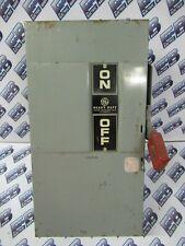 Ge Th4323 Model 4 100 Amp 240 Volt 3p4w Fusible Vintage Disconnect