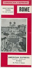 1967 Rome Italy Travel Brochure Sightseeing Fashion Ads Map Vintage Mod Clothing