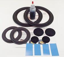 Epicure Model 3 Woofer & Mid Refoam Kit - Speaker Repair w/ Shims & Dust Caps!