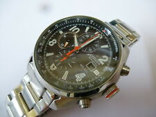 Gents Citizen Eco-Drive WR100 Stainless Steel Watch
