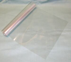 """10 Yard Roll 16"""" Brodart Paperless Book Jacket Covers -  Clear Lo-Luster Mylar"""