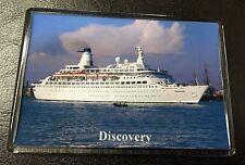 CMV DISCOVERY Photo Fridge Magnet Cruise Ship Ocean Liner Princess Cruises