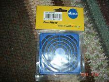 AKASA 80mm Fan Filter with Grill (Blue) GRM80-30