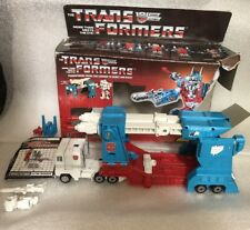 Transformers G1 1986 Ultra Magnus 100% Complete Tight Joints