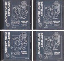 Country Music Cavalcade MAGIC TOUCH OF EDDY ARNOLD NASHVILLE GRAFFITI 4 CD Lot