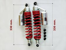 HONDA CF50 CF70 CHALY ST50 ST70 RED SPRING SHOCK ABSORBER 330mm.  (as)