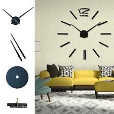 Large Silent Quartz Wall Clock Movement DIY Hands Mechanism Repair Parts Tool UK