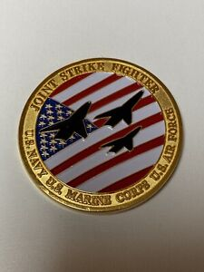 Joint Strike Fighter JSF F-35 F35 X-35 X35 Wright Flyer Oversized Challenge Coin