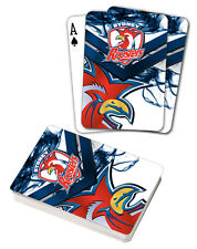 NRL Sydney Roosters Deck Playing Cards Poker Mascot Cards Christmas Gift