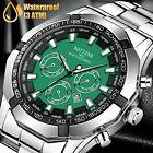 Waterproof Mens Watch Relojes De Hombre Stainless Steel Quartz Luminous Classic