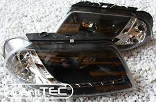 KLARGLAS SCHEINWERFER VW PASSAT 3BG B5 GP LED TAGFAHRLICHT TFL LOOK BLACK TOP
