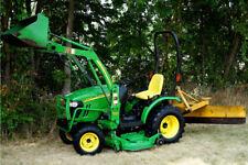 John Deere 2320 Diesel Hydrostatic 4X4 Tractor W/ Loader Blade & Belly Mower!
