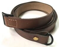 WWI FRENCH LEBEL 1890/92 1915 RIFLE LEATHER CARRY SLING-BROWN LEATHER