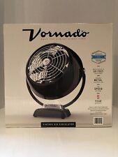 Vornado Vintage 6 Black Metal Air Cooling Circulator Quite 2-speed Settings Fan