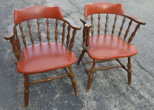 Set of 2 CIRCA 1950 Smokers Bow Chairs - Boling Chair Company