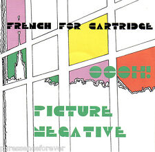 FRENCH FOR CARTRIDGE - Oooh!/Picture Negative (UK 2 Tk DJ CD Single)