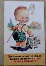 Bamforth postcards Taylor Tots Series K354
