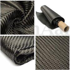 3K Plain Weave Twill Real Black Carbon Fiber Cloth Fabric Tape 91cmx36cm DIY