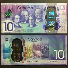2017 CANADA 10 DOLLARS POLYMER P-NEW UNC *COMMEMORATIVE* NR