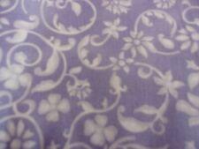 "MDG Spring fling  lavender w/dk. purple leave 100% cot 44""  by the yard"