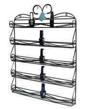 High Quality Metal Nail Polish Display Organizer Wall Rack-hold 50 to 80 Bottles