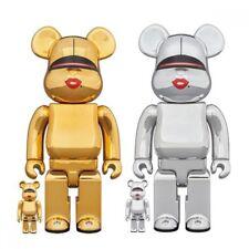 Medicom Toy Bearbrick Be@rbrick TYGA HAJIME SORAYAMA 100% 400% GOLD Figure