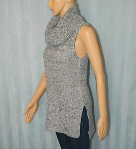 **NEW** ATMOS & HERE Ladies Grey Knit Top Size 8 Blouse Sleeveless Womens