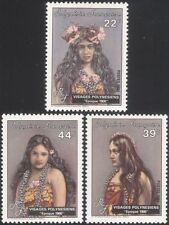 Polinesia FRANCESE 1985 Donne/Copricapo/Costumi/Gioielli Set 3v (n45313n)
