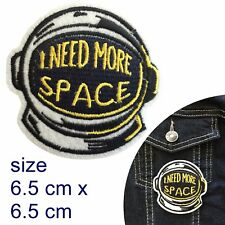I need more space Iron on patch quirky freedom attitude free iron-on patches
