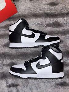 "Nike Dunk High Black White ""Panda"" Size 11W/9.5M *IN HAND* DD1869-103"