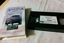 "America by Rail  VHS "" VOLUME 1 - The Heartland "" 1994 - 2 hours"