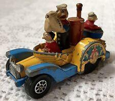 Vintage Corgi Juniors Whizzwheels 1008 Popeye Paddle Wagon 1969 Patent Pending