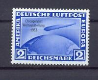 DR 497 Zeppelin Chicagofahrt 2 RM postfrisch (ct67)